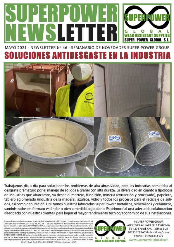 Nº 46 – Soluciones Antidesgaste en la Industria